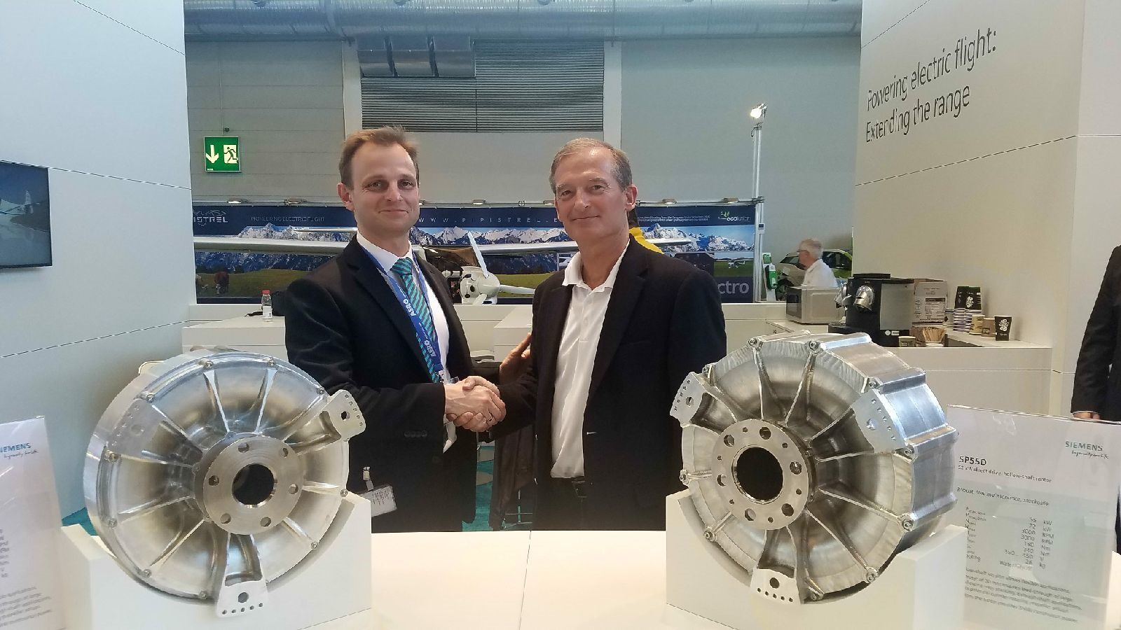 Siemens to Provide Electric Propulsion Motor for Bye Aerospace's Sun Flyer 2