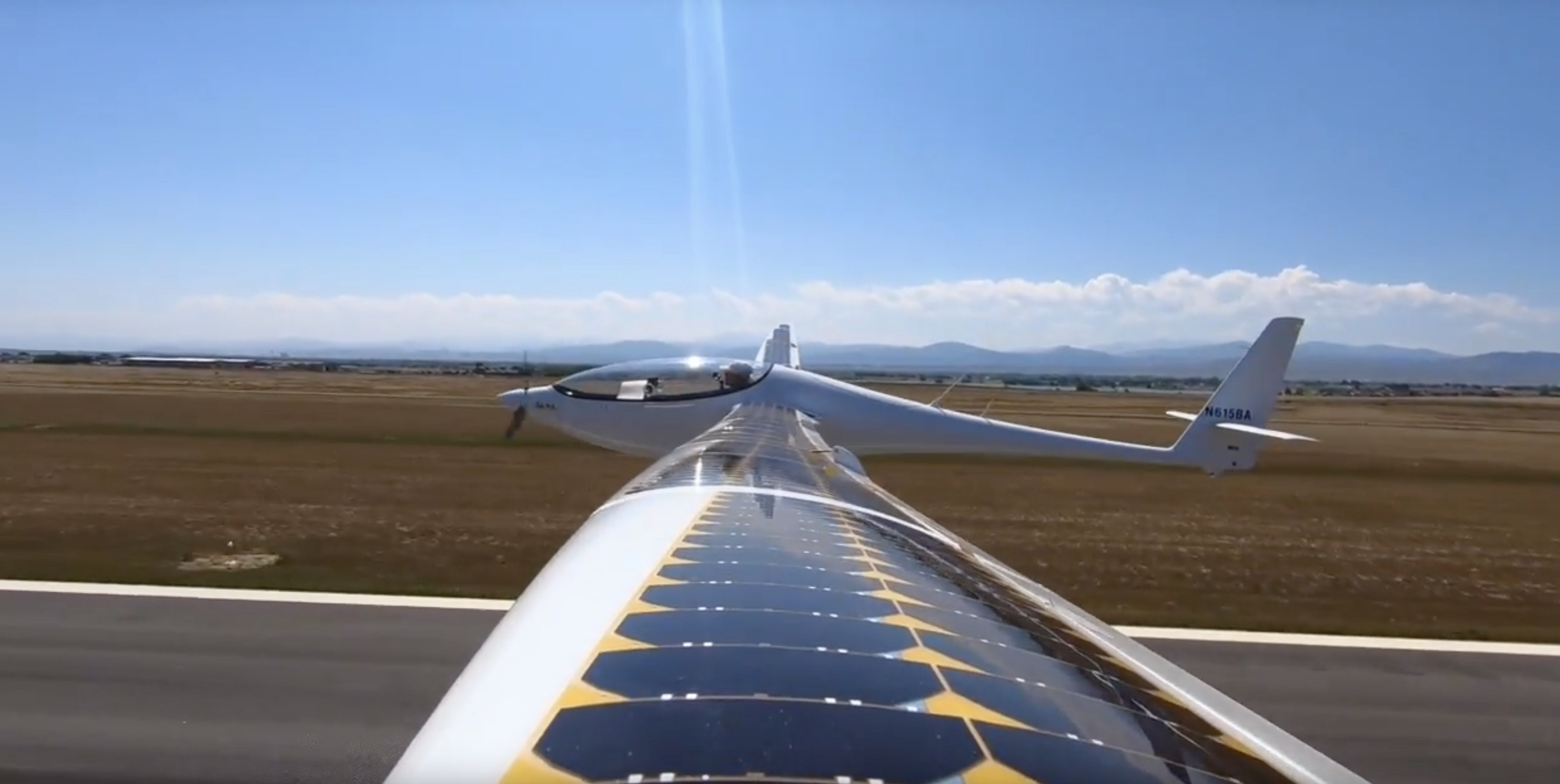 "Bye Aerospace's Solar Electric ""StratoAirNet"" Prototype Completes 1st Flight"