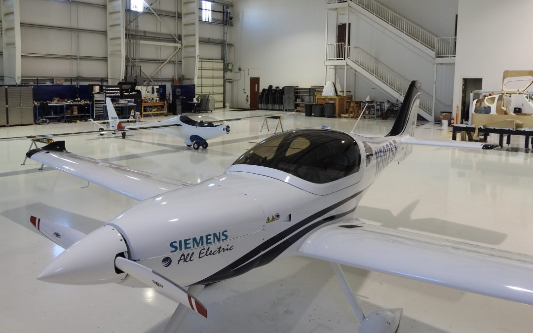 Bye Aerospace Relocates to Larger Hangar as Flight Tests Continue