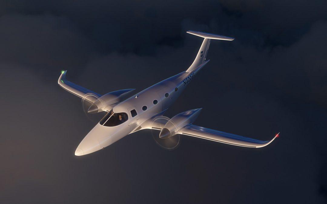 Bye Aerospace Unveils 8-Seat All-electric eFlyer 800